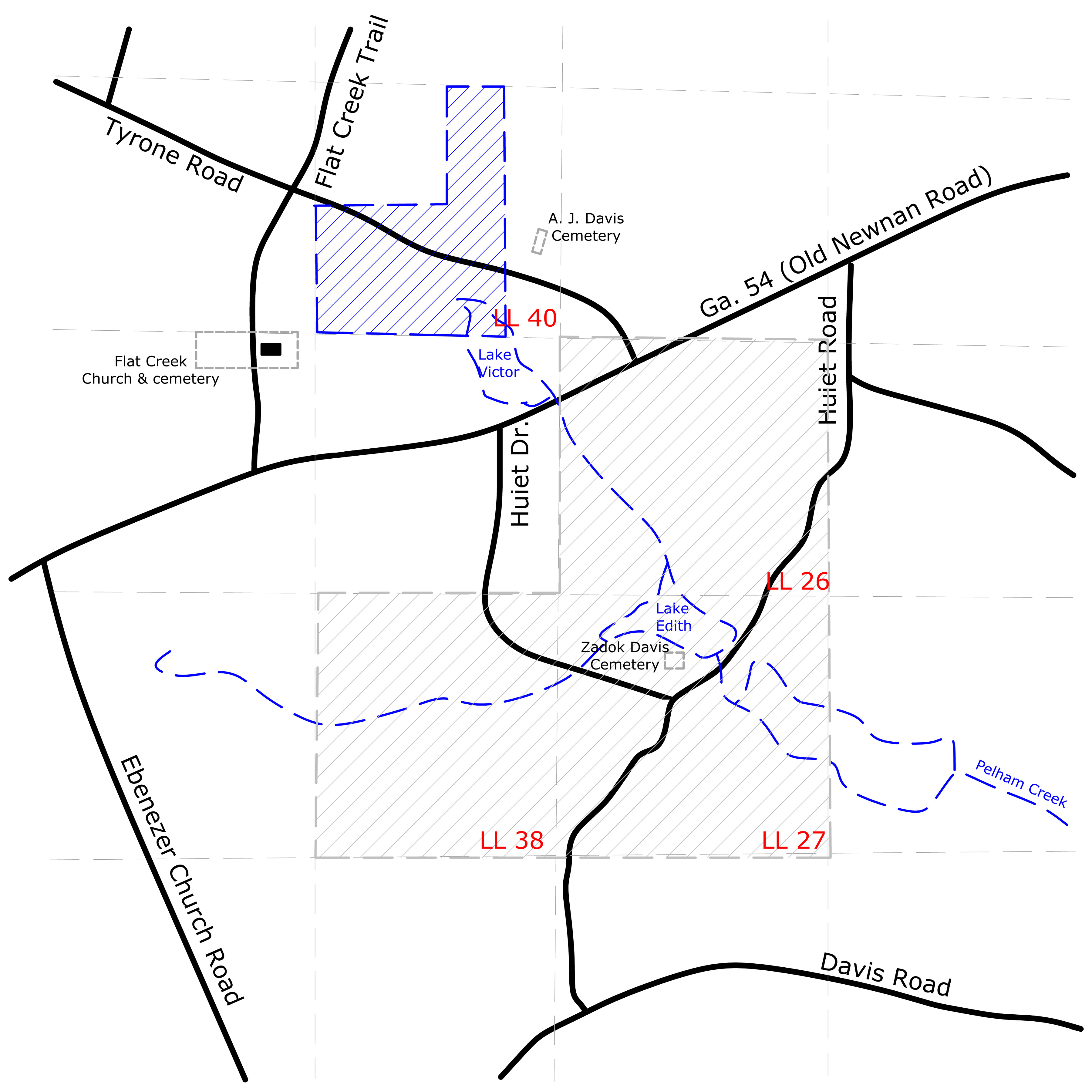 DavisWesley - Map of georgia fayetteville